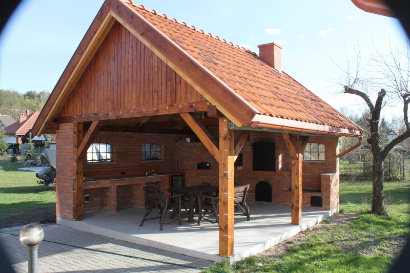 Grill  kuchnia letnia  Pluski Apartamenty Domki
